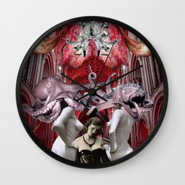 Gathering Of Witches Wall Clock