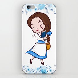 CUTE BELLE iPhone Skin