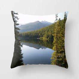 Bear Lake Throw Pillow