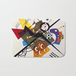 Kandinsky On White II Bath Mat