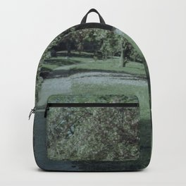 Green-Wood cemetery in bloom Backpack