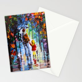 Father and Daughter Stationery Cards