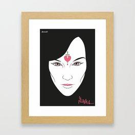 La Puñales Framed Art Print