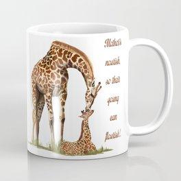 Mothers Giraffe and Calf Coffee Mug