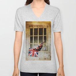 Union Jack, Union Flag Unisex V-Neck