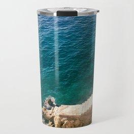Stairs to the Sea Travel Mug