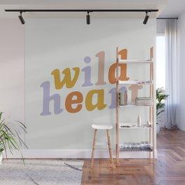 Wild Heart Wall Mural