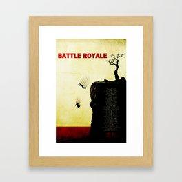 Battle Royale Framed Art Print