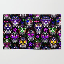 Candy Skulls Rug