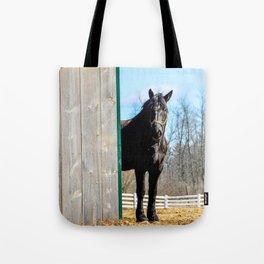 Percheron Horse by Teresa Thompson Tote Bag