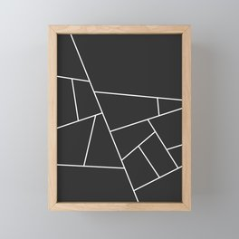 Modern Geometric 56 Framed Mini Art Print