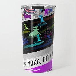 New York City Marathon 2018 Travel Mug