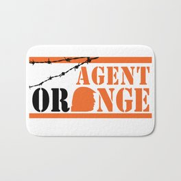 Agent Orange Bath Mat