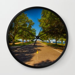 Roanoke Island - North Carolina Wall Clock