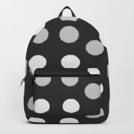 Rough Polka Dot Pattern Backpack