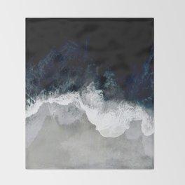 Blue Sea Throw Blanket