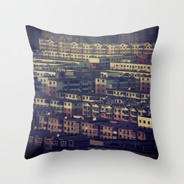 Human Sardines Throw Pillow