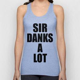 Sir Danks A Lot Unisex Tank Top