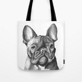French Bulldog Drawing Tote Bag