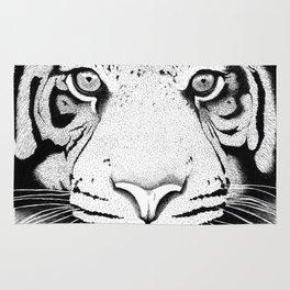 Tiger face Rug