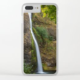 Horsetail Falls in Oregon's Columbia River Gorge Clear iPhone Case