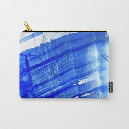 A Blue Stroke_Blue abstract drawing Carry-All Pouch