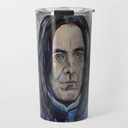 Snape/Alan Rickman Icon Travel Mug