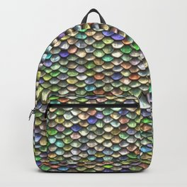 Iridescent Dragon Scales Backpack
