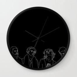 MATTY // ROSS // GEORGE // ADAM Wall Clock