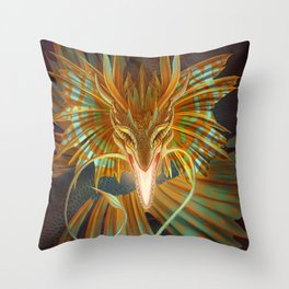 Leviathan  Throw Pillow