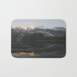 Mirror Mountains - Landscape Photography Bath Mat