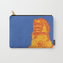 Zhong Hua Men Gate Lion Carry-All Pouch