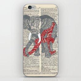 Roll Tide (Alabama Elephant) iPhone Skin