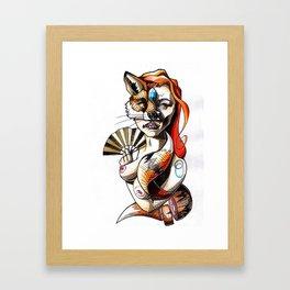 Foxy Lady Framed Art Print