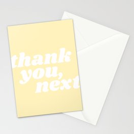thank you, next Stationery Cards