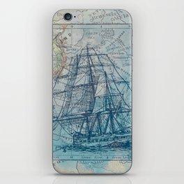 Clipper Ship iPhone Skin