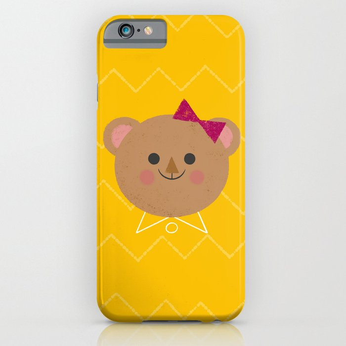 Dressy Bear iPhone Case
