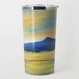 Morning Bliss, Imaginary Landscape Travel Mug