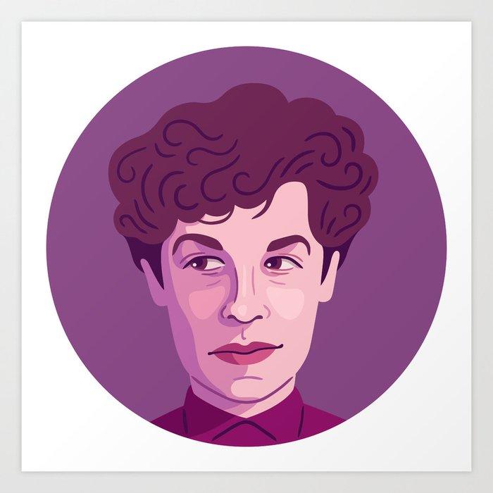 Queer Portrait - Jane Bowles Art Print