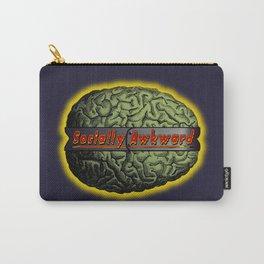 The Socially Awkward Brain Carry-All Pouch