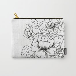 Botanical Bouquet Carry-All Pouch
