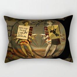 """""""Mala mujer"""" Rectangular Pillow"""
