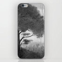 The Dark Forest (B&W) iPhone Skin