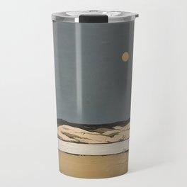 Moon landscape painting Travel Mug