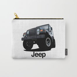 Cool Jeep adventure Carry-All Pouch