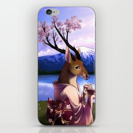 Lady Cerezo iPhone Skin