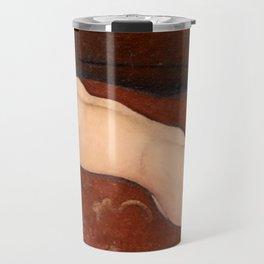 "Amedeo Modigliani ""Reclining Nude"" Travel Mug"