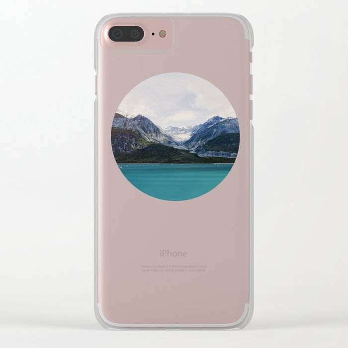 Alaska Wilderness Clear iPhone Case