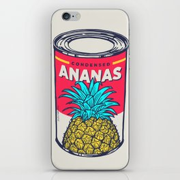 Condensed ananas iPhone Skin