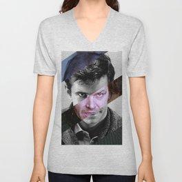 MashUp of Norman Bates & Jack Torrance Unisex V-Neck